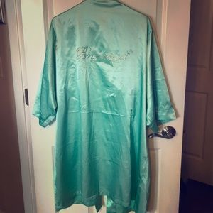 Bridesmaid Satin Robe- Worn Once